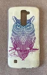 Силиконовый чехол для LG K10 2016 (Owl)