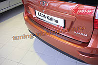Накладка на наруж. порог багажника без логотипа Союз 96 на Лада Калина 2013 Lada Kalina 2013