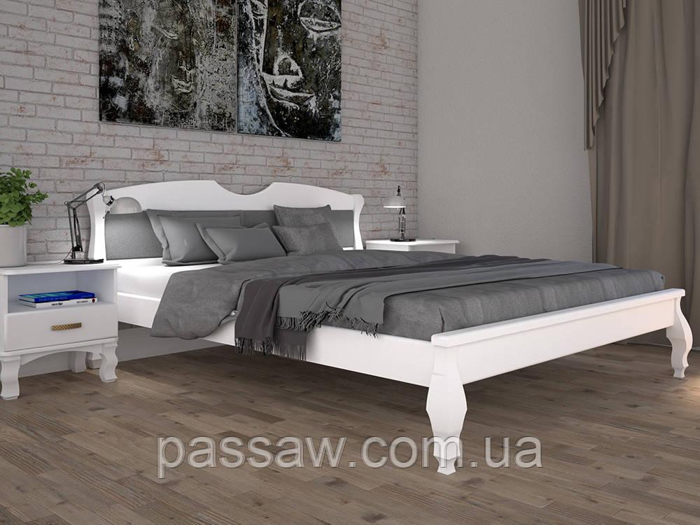 Кровать ТИС КОРОНА 3 90*190/200 бук