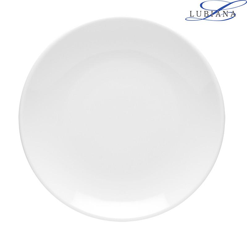 Тарелка фарфоровая мелкая Lubiana Hotel 190мм