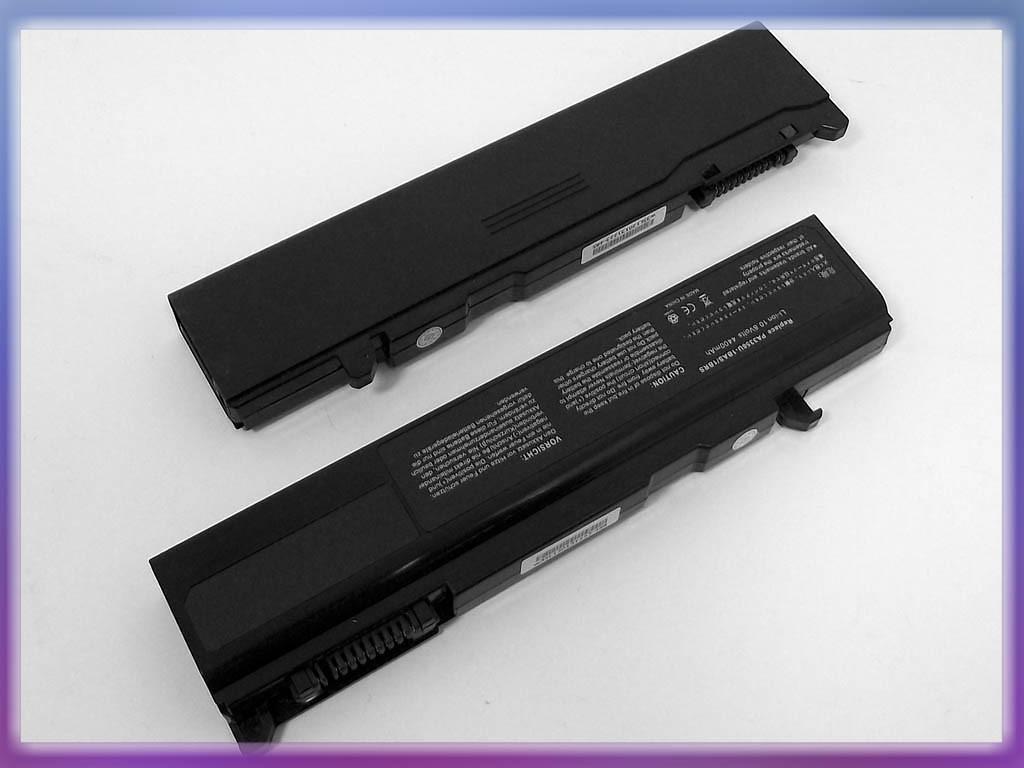 Батарея Toshiba (PA3356U) Satellite U205 (10.8V 4400mAh). Black.