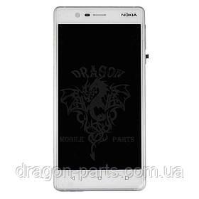 Дисплей Nokia 3 с сенсором TA-1020 Серебро Silver, оригинал