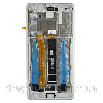 Дисплей Nokia 3 с сенсором TA-1020 Серебро Silver, оригинал, фото 2