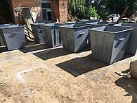Мусорный бак (контейнер) для сбора ТБО 0,75 м3