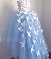 Сукня для дівчинки з метеликами, фото 2