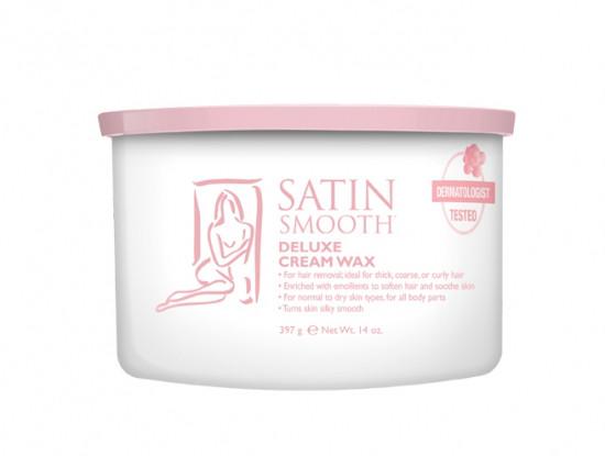 Віск банку кремовий делюкс 400 мл. Satin Smooth (США)