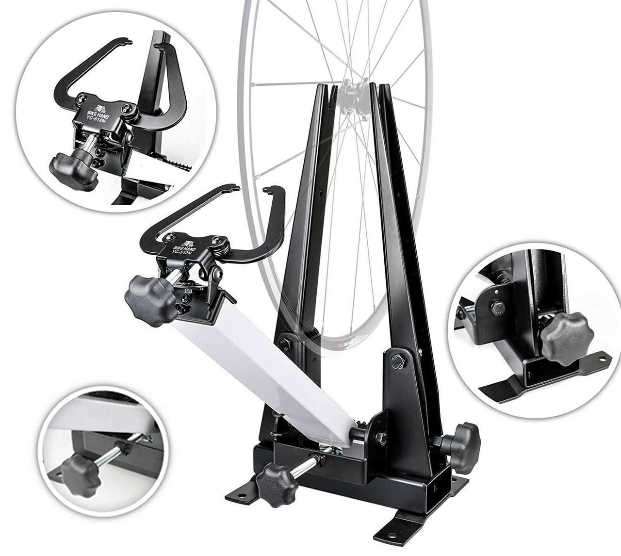 Станок BikeHand YC-512NB для центровки колес