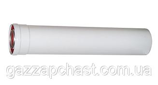 Удлинитель коаксиального дымохода для турбированных котлов 0,5 метра, 60/100 (801005)