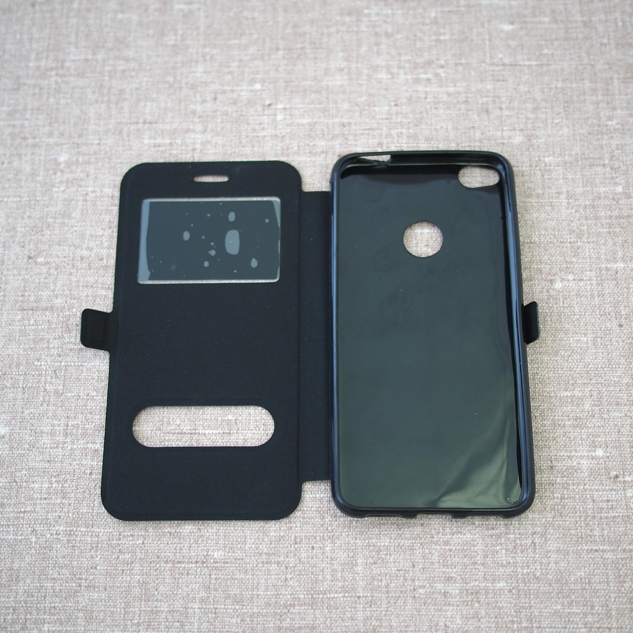 Чехол Window Huawei P8 Lite black