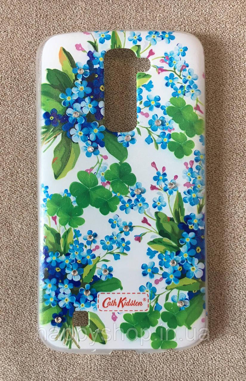 Силиконовый чехол Cath Kidston для LG K10/K430DS (Romantic)