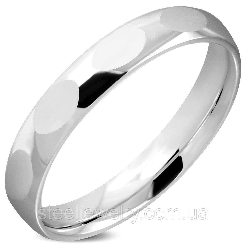 Обручальное кольцо из ювелирной стали 316 Steel 17.75