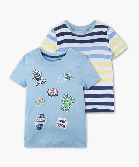 Набор детских футболок для мальчика 2 года C&A Германия Размер 92