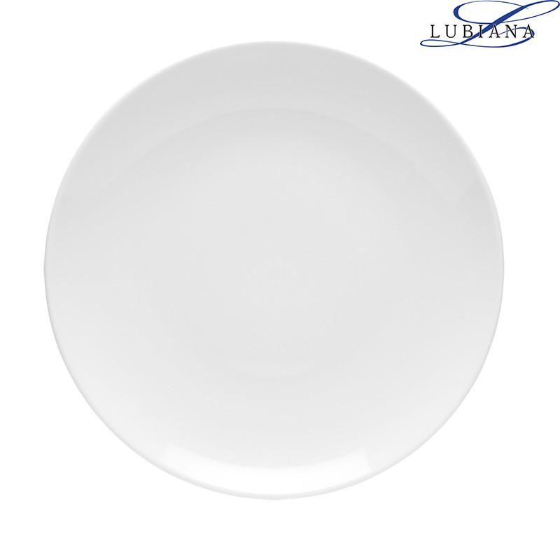 Тарелка фарфоровая мелкая Lubiana Hotel 280мм