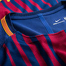 Игровая футболка Барселона (домашняя ААА качество), сезон 2017/18, фото 3