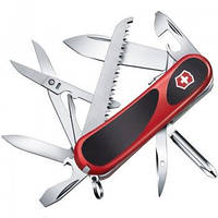 Нож складной Мультитул Викторинокс Victorinox EVOGRIP 18 (85мм, 15 функций), красный 2.4913.C