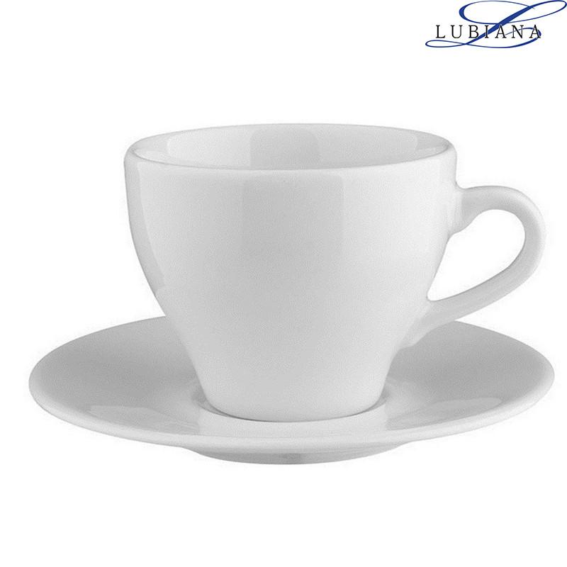 Чашка 130мл з блюдцем 130мм Paula Lubiana