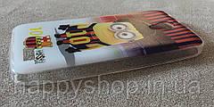 Силиконовый чехол-накладка для Lenovo A319 (Minion Messi), фото 3
