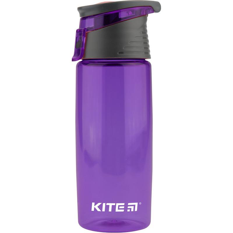 Пляшечка для води, 550 мл, фіолетова