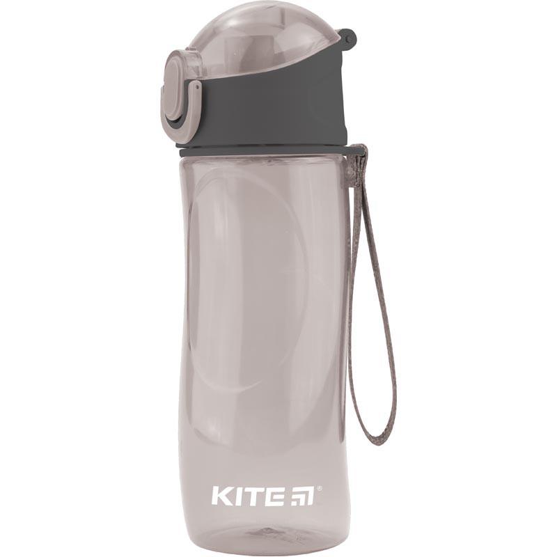 Пляшечка для води, 530 мл, сіра