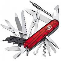 Нож Складной Викторинокс Victorinox CYBERTOOL (91мм, 41 функция), красный прозр. 1.7775.T