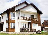 Строительство загородных коттеджей, дачных домов с гараж и ландшафтным дизайном в Днепре
