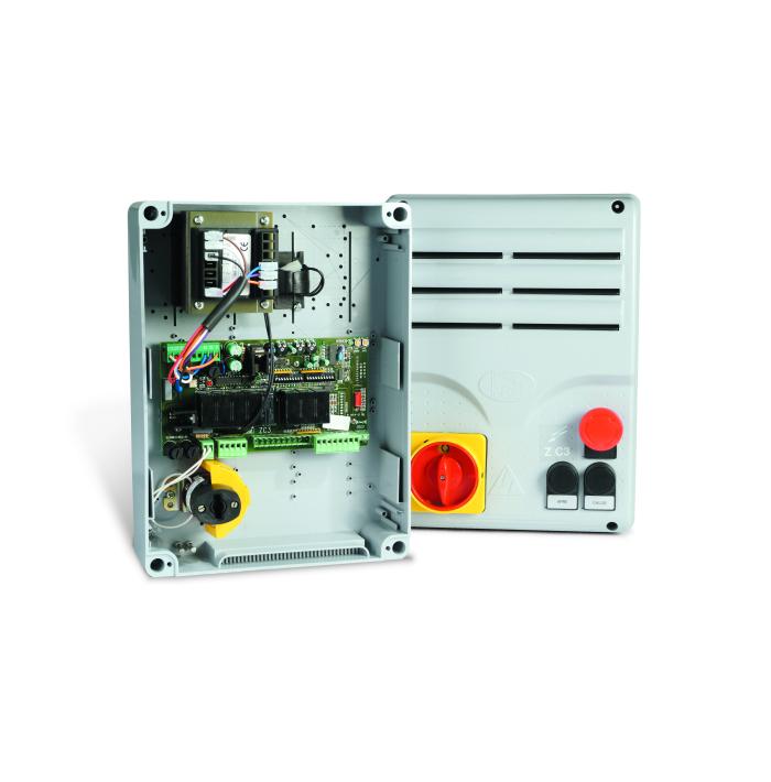 Панель управления с кнопками управления на корпусе Came ZCX10C