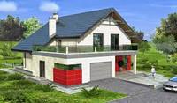 Строим дачный домик с бассейном, ландшафт и гаражом в Днепре