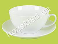 "Чашка с блюдцем ""Хорека"" (чашка-300мл, блюдце-15,5см)"
