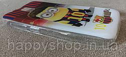 Силиконовый чехол-накладка для Lenovo A328 (Minion Messi), фото 3