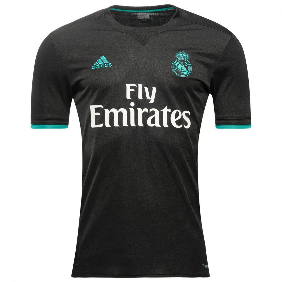 Игровая футболка Реал Мадрид (выездная  ААА качество), сезон 2017/18