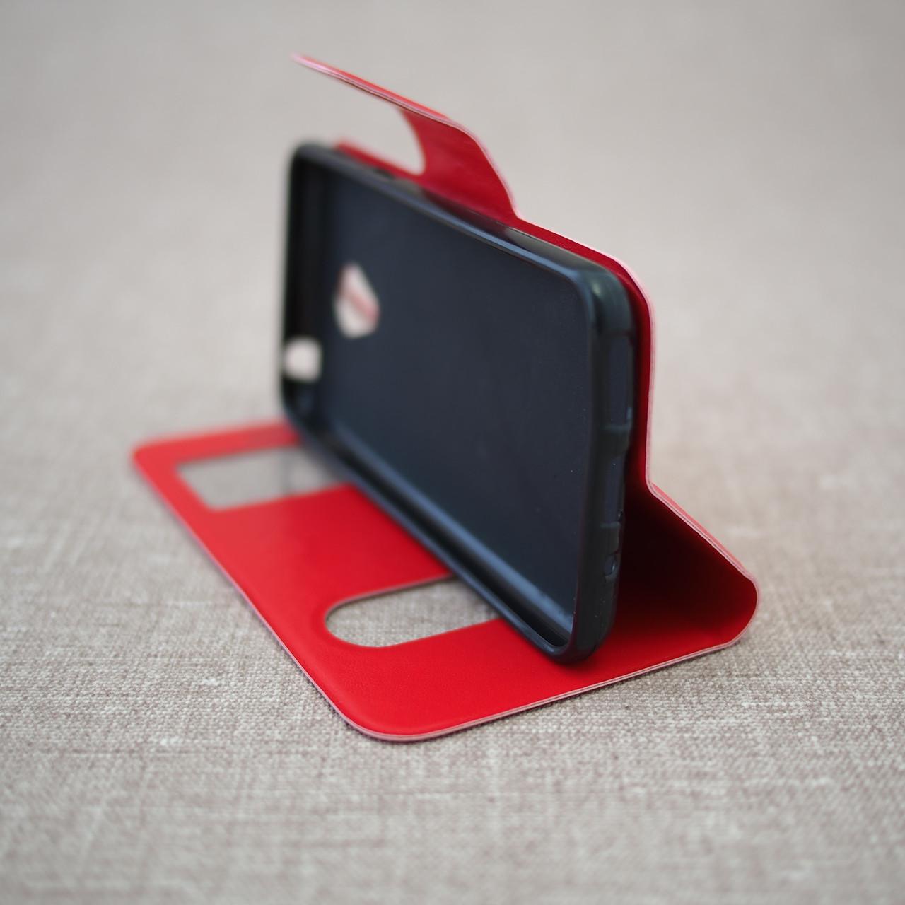 Чехол Book Cover Meizu M2 mini red