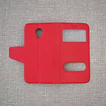 Чехол Book Cover Meizu M2 mini red, фото 2