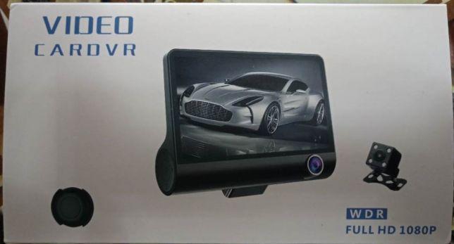 Видеорегистратор автомобильный на 3 камеры DVR SD 319