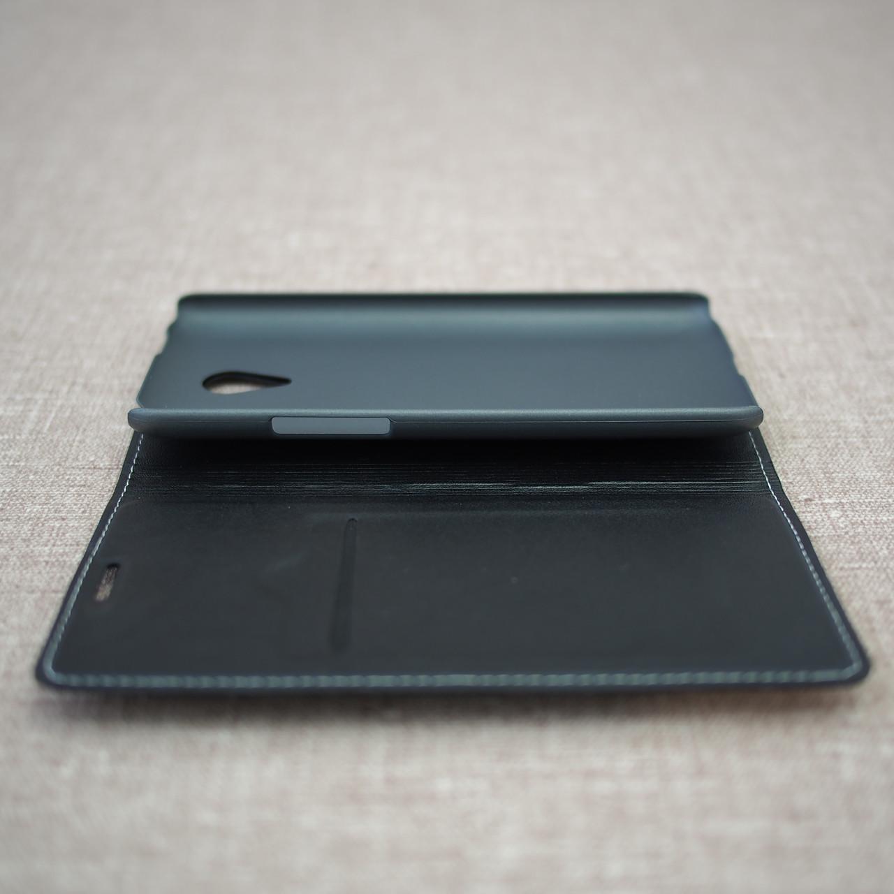 Чехол Book-case Meizu M1 Note black Для телефона Черный