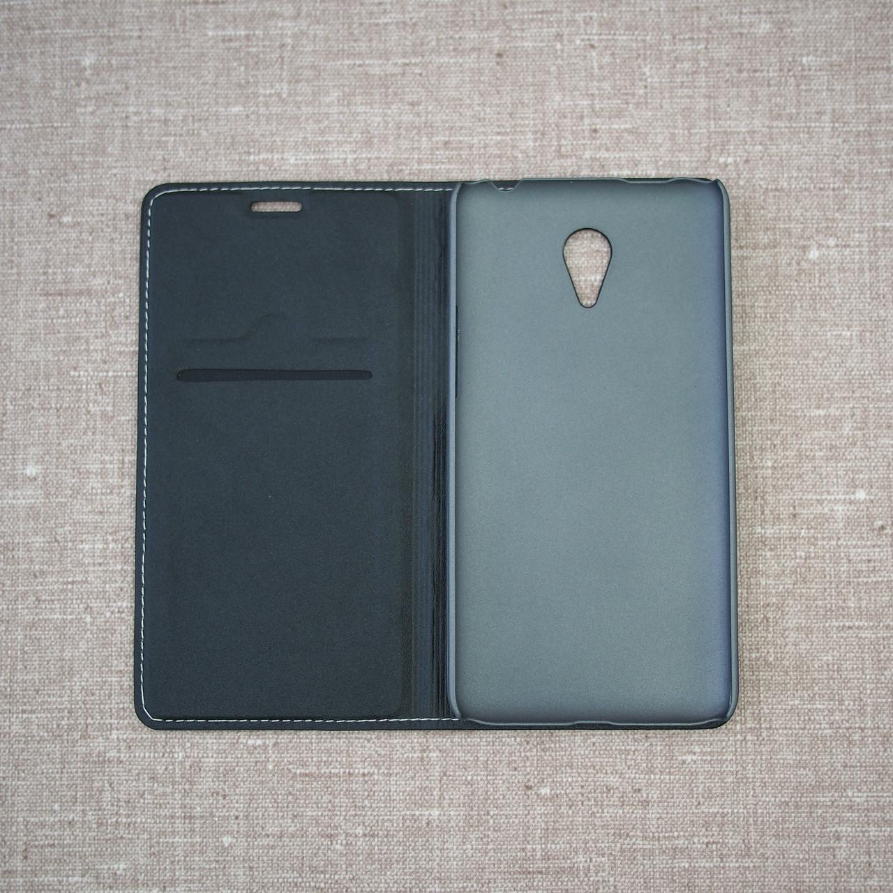 Book-case Meizu M1 Note black Для телефона Черный