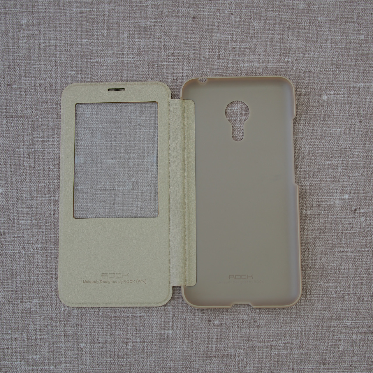 Чехол ROCK Touch Meizu MX5 gold