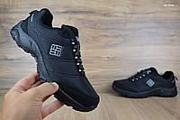 Мужские кроссовки 44 размер Columbia Firecamp зима черные с серым Реплика ТОП Качества, фото 1