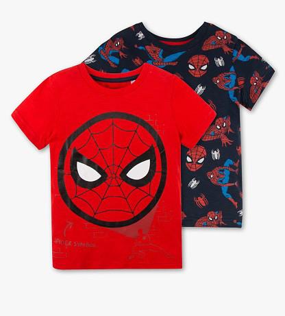 Набор детских футболок для мальчика с Человеком Пауком C&A Германия Размер 104