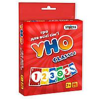 Настольная Игра Уно UNO Классическое Classic Стратег STRATEG, 7015, 008505, фото 1