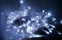 """Гирлянда светодиодная """"Проводная"""" 400Led(белый провод), фото 1"""