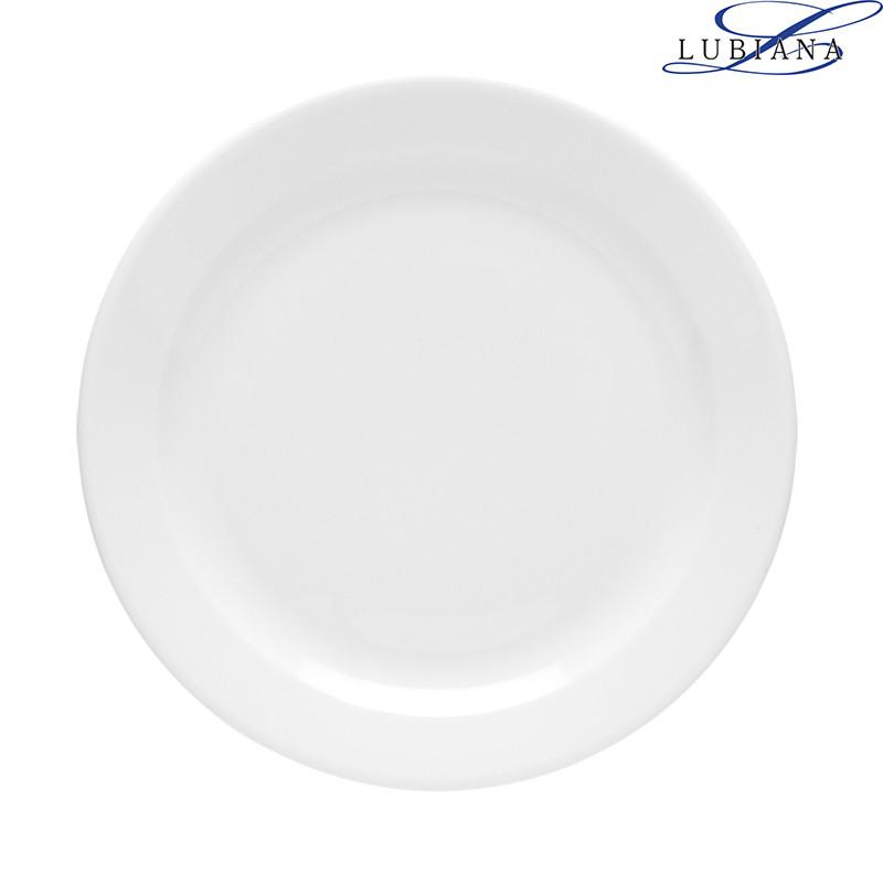 Тарелка фарфоровая мелкая Lubiana Venus 200мм