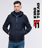11 Kiro Tokao | Ветровка для мужчин 2061 темно-синий