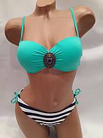 Купальник  Бриз зеленый на  44   размер.