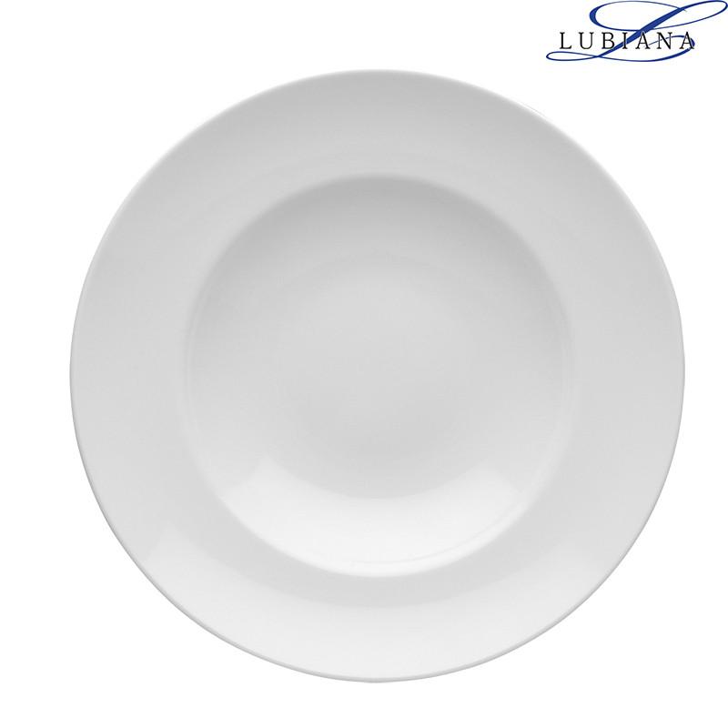 Тарелка фарфоровая глубокая Lubiana Kaszub 270мм