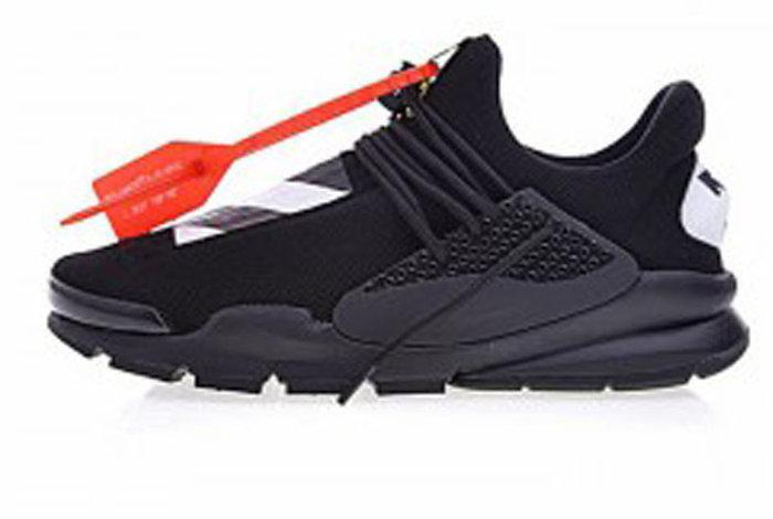 Мужские кроссовки OFF-WHITE x Nike Sock Dart All Black