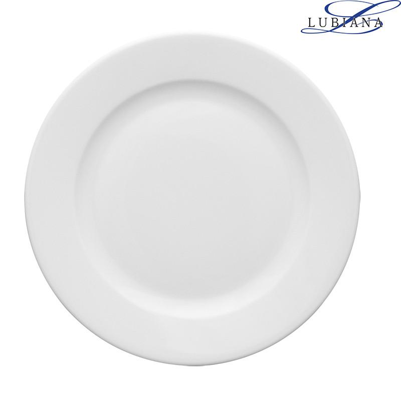 Тарелка фарфоровая мелкая Lubiana Kaszub 170мм