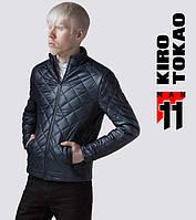11 Киро Токао   Мужская осенняя куртка темно-синий