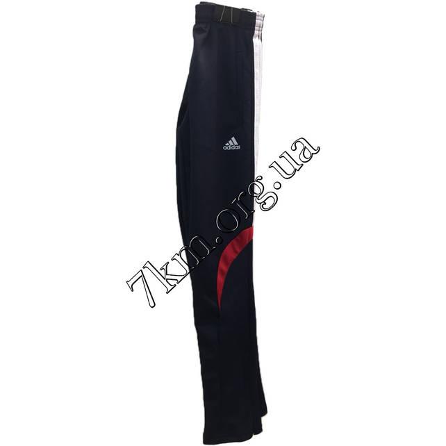 """Спортивные штаны для мальчиков реплика """"adidas"""" 8-13 лет темно-синие +красный Оптом 210706-4"""