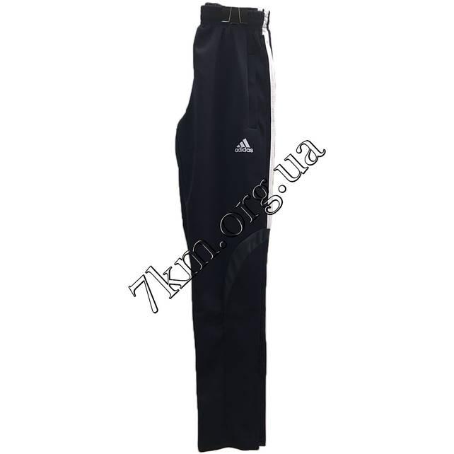"""Спортивные штаны для мальчиков реплика """"adidas"""" 8-13 лет темно-синие +серый Оптом 210706-6"""