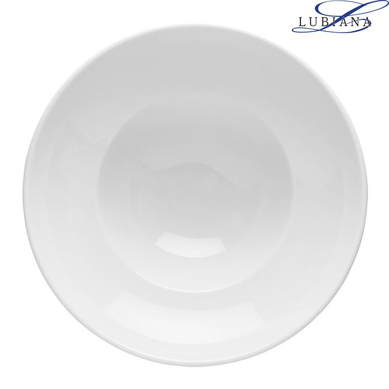 Тарелка фарфоровая Lubiana Kaszub 260мм для пасты